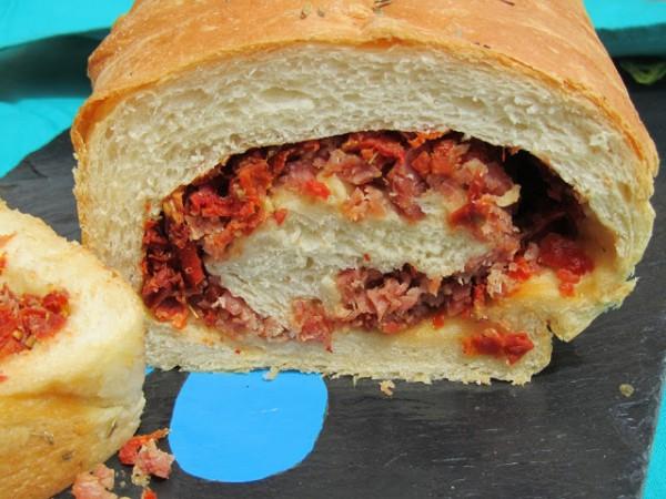 Pan tumaca Ana Sevilla tomate, aceite y jamón