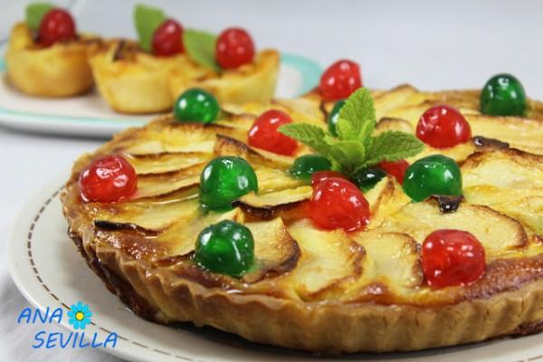 Tarta de queso y manzana Ana Sevilla con Thermomix