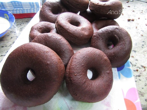 Donuts de chocolate Thermomix