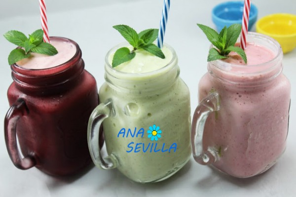 Smoothies de frutas Thermomix