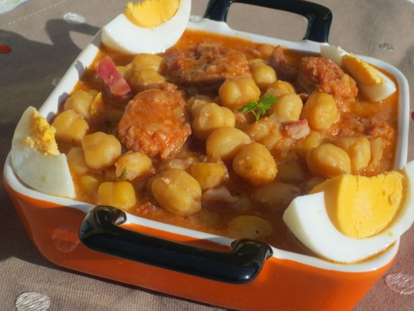 Garbanzos estofados olla GM