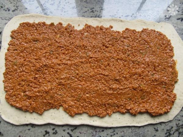 Caracolas de carne y tomate Thermomix