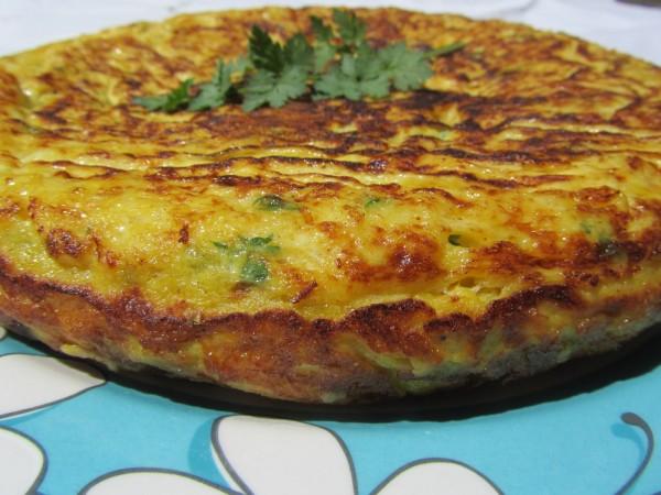 Tortilla de merluza Ana Sevilla con Thermomix.