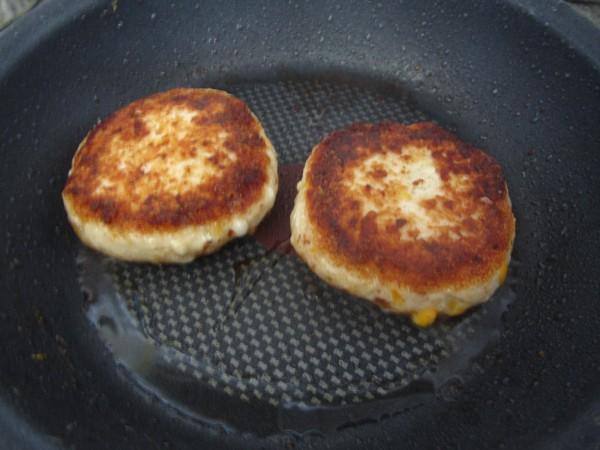 Hamburguesas de pollo y queso Thermomix