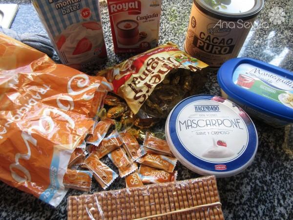 Tarta de chocolate y caramelo Thermomix