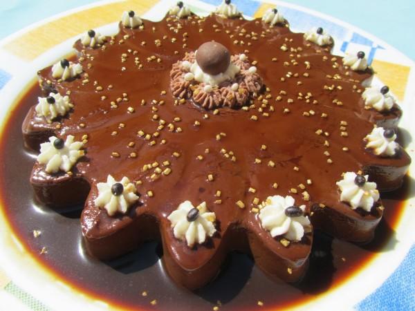 Flan de chocolate Ana Sevilla
