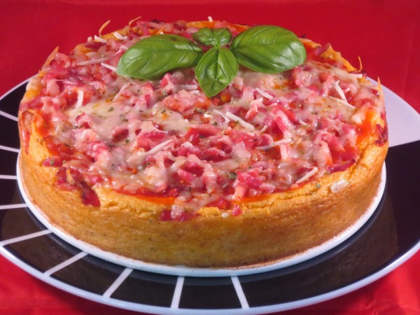 Cheescake de pizza Ana Sevilla Con Thermomix