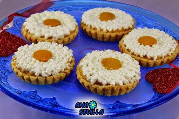 Tartaletas de melocotón Ana Sevilla con Thermomix