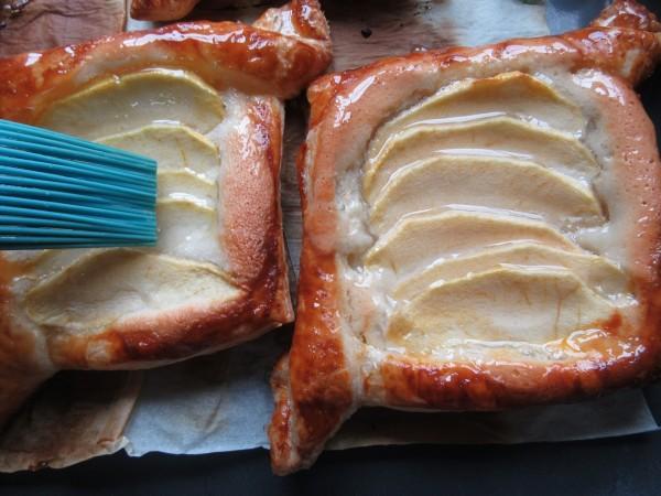 Tartaletas de almendra y manzana con Thermomix