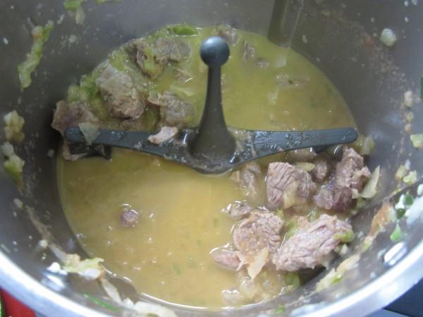 Estofado de ternera con patatas Thermomix