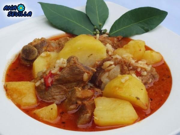 Patatas con costillas Ana Sevilla cocina tradicional