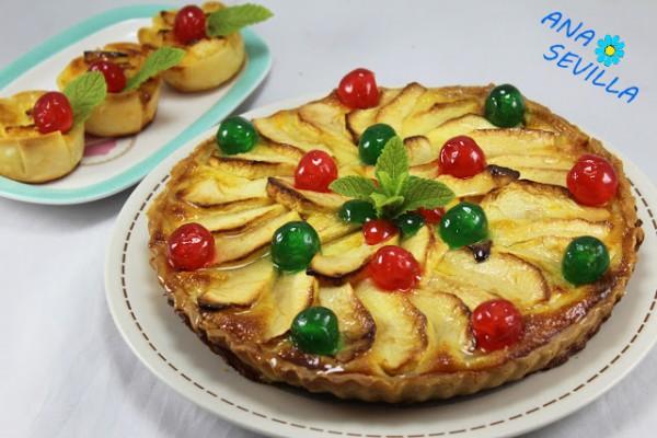 Tarta de queso y manzana con Thermomix Ana Sevilla
