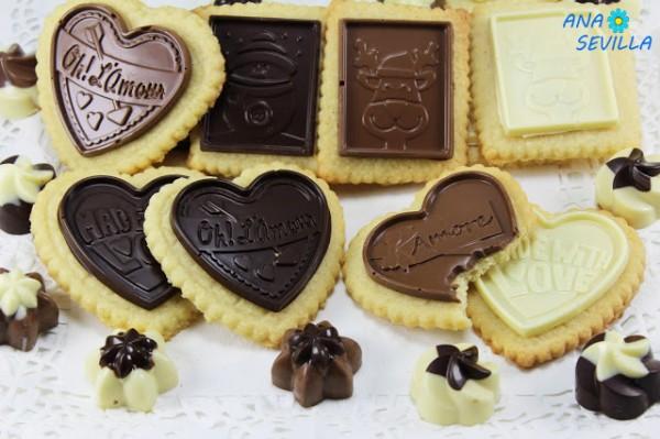 Galletas de coco y chocolate Ana Sevilla cocina tradicional