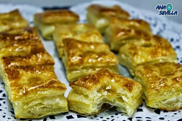 Hojaldres de Astorga Ana Sevilla cocina tradiconal