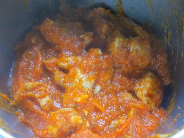 Solomillo o magro con tomate Thermomix