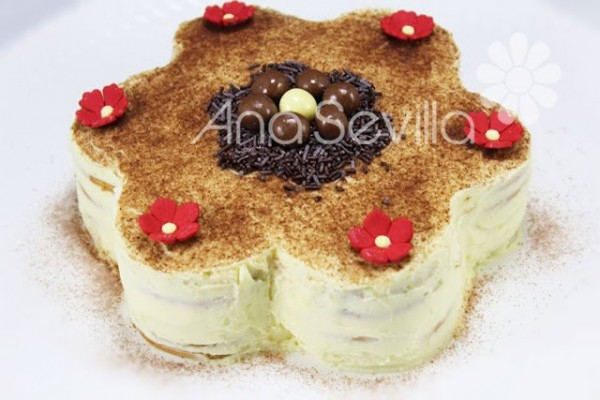 Tarta de galletas y mascarpone Thermomix