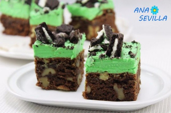 Oreo mint brownie Thermomix