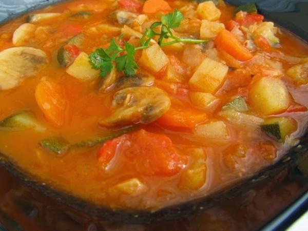 Potaje de verduras Ana Sevilla cocina tradicional