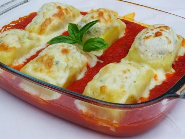Patatas rellenas de pollo y tomate Ana Sevilla