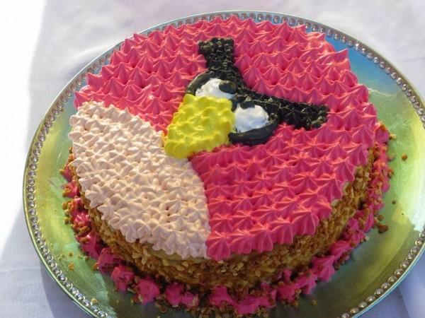 Tarta de crema y merengue Ana Sevilla