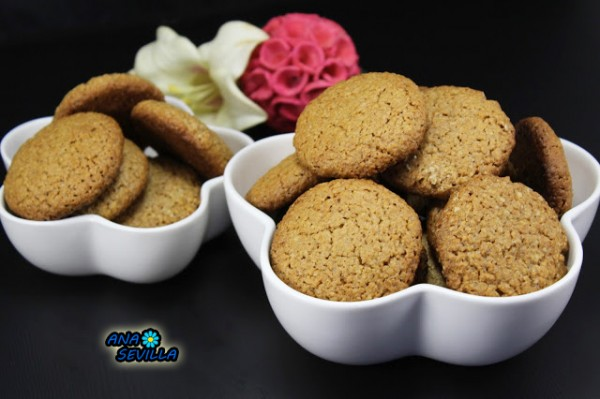 Galletas digestive (Mi receta) Ana Sevilla cocina tradicional