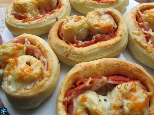 Palmeritas de pizza Ana Sevilla