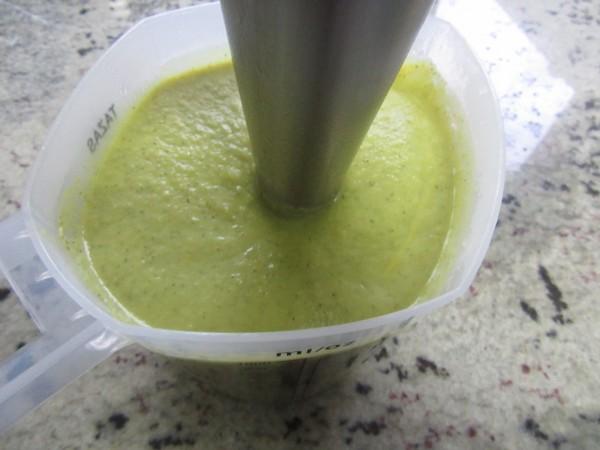 Crema de brócoli light olla GM