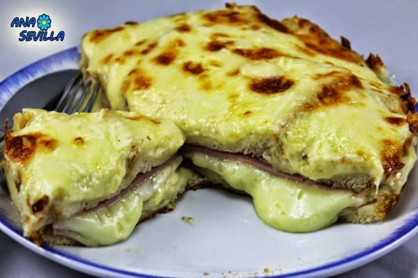 Sandwich Croque-monsieur Ana Sevilla olla GM