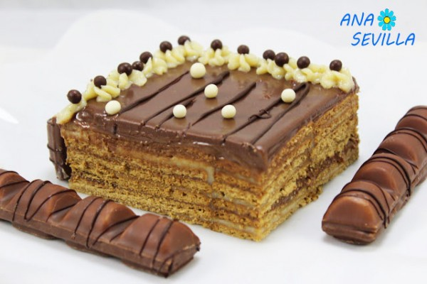 Tarta de galletas y chocolate Thermomix