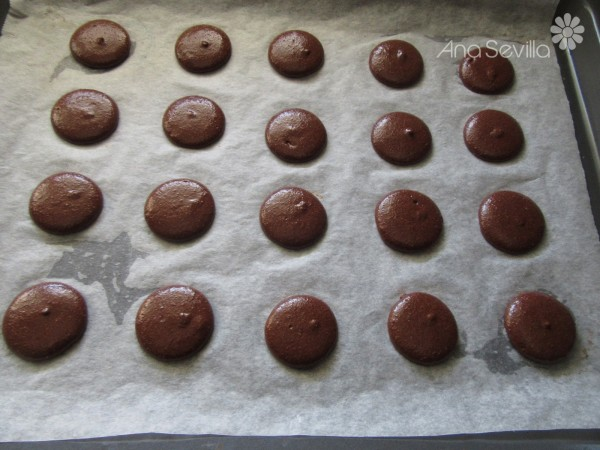 Macarons de chocolate Thermomix