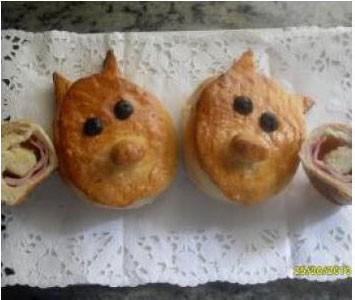 Porkys de pan de brioche thermomix