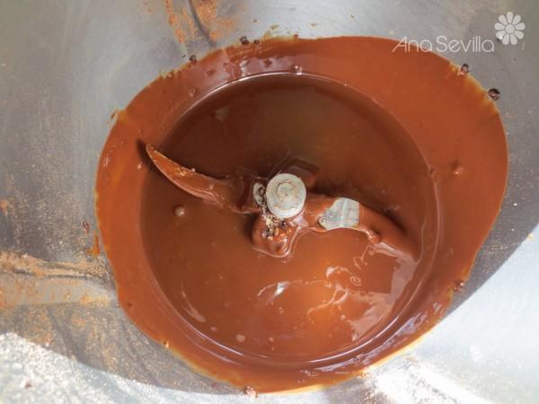 Turrón de muesli y aceite de oliva Thermomix.