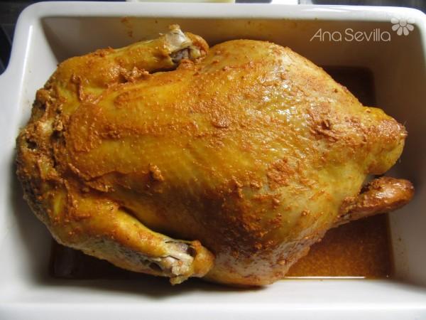 Pollo asado a la mostaza Thermomix