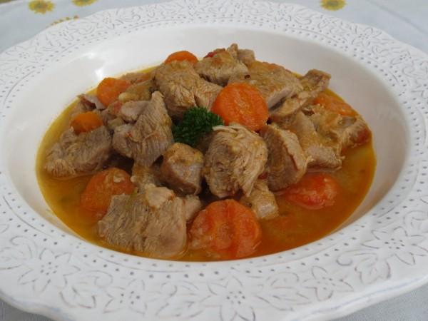 Pavo estofado a la naranja Ana Sevilla cocina tradicional