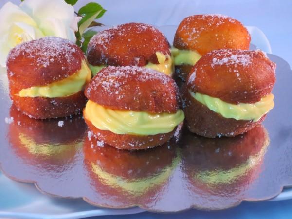Bombas fritas, berlinesas o bolas de fraile Ana Sevilla cocina tradicional