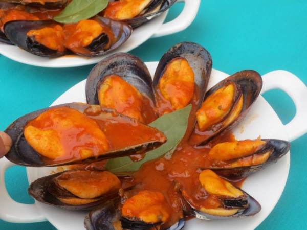 Mejillones en salsa Ana Sevilla olla GM
