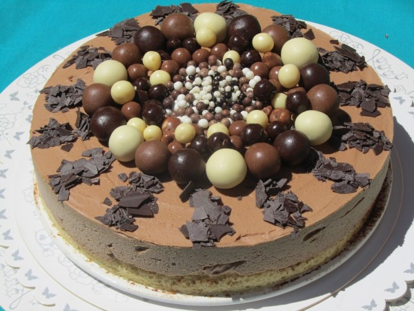 Tarta helada de nutella Ana Sevilla cocina tradicional