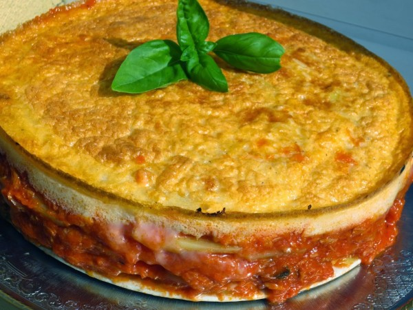 Lasaña fácil de patata y atún Ana Sevilla cocina tradicional