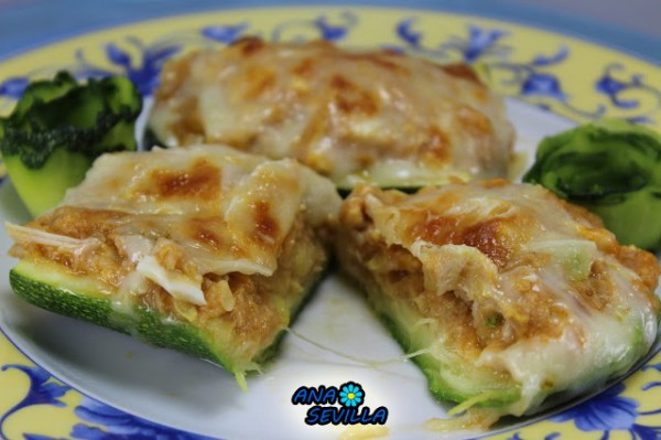 Calabacines de atún Ana Sevilla cocina tradicional