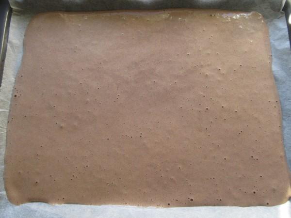 Tronco de mascarpone y caramelo Thermomix