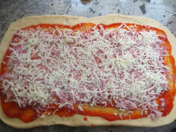 Kringle Estonia de pizza con Thermomix