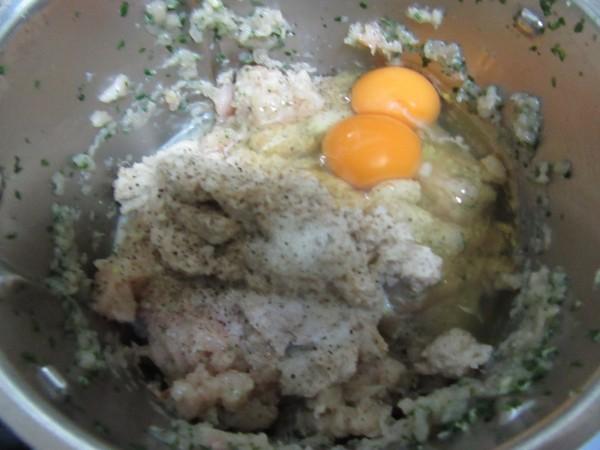 Albóndigas de pollo en salsa Thermomix