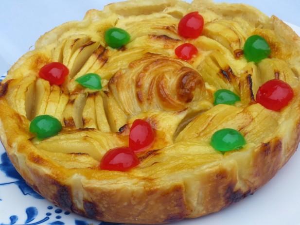 Tarta de manzana francesa olla GM