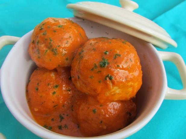Albóndigas de pavo en salsa de tomate