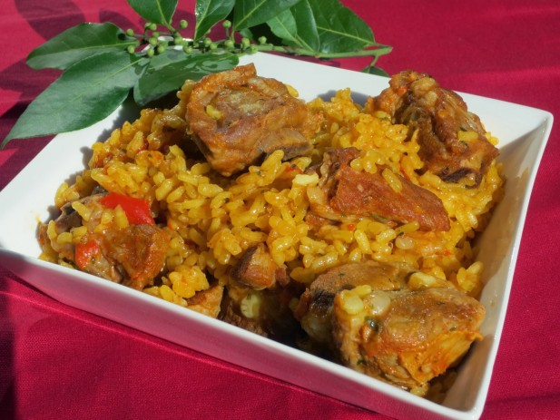 Arroz con costillas olla GM