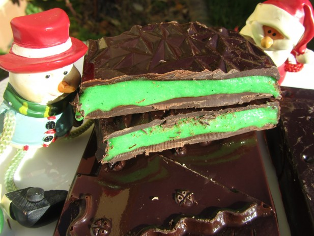Turrón after-eight (O bombones)