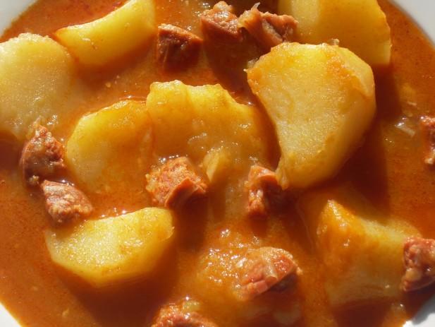 Patatas a la extremeña Thermomix