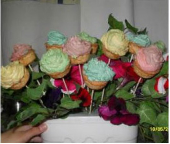 Bouquet de rosas de vainilla