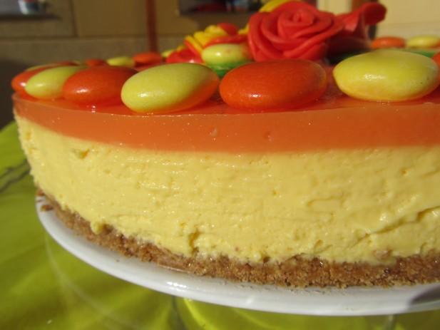 Tarta de caramelos naranja-limón Thermomix