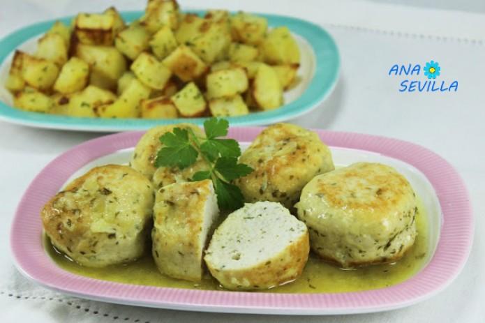 Albóndigas de pollo en salsa olla GM